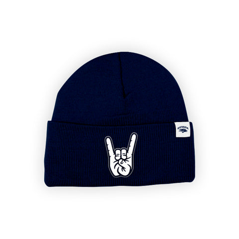 "Nevada Wolf Pack ""WOLF PACK"" Hand Sign Beanie"
