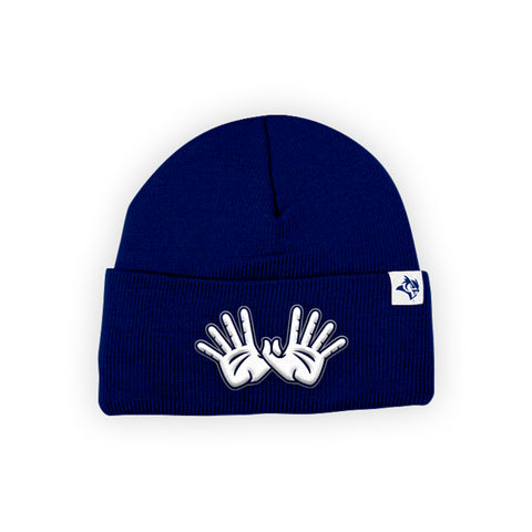 "Rice Owls ""OWL WINGS"" Hand Sign Beanie"