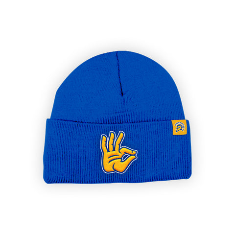 "San Jose State Spartans ""SPARTAN UP"" Hand Sign Beanie"