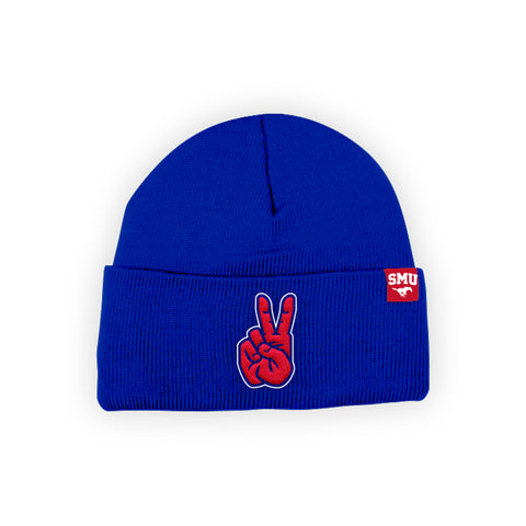 "SMU Mustangs ""PONY UP"" Hand Sign Beanie"