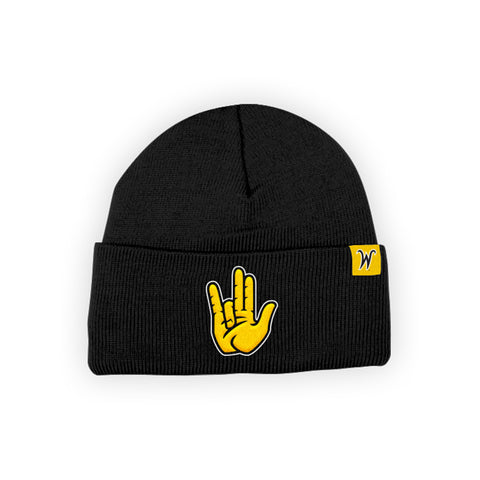 "Wichita State Shockers ""SHOCKER"" Hand Sign Beanie"