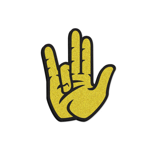 "Wichita State Shockers ""SHOCKER"" Hand Sign Foam Hand/Foam Finger"