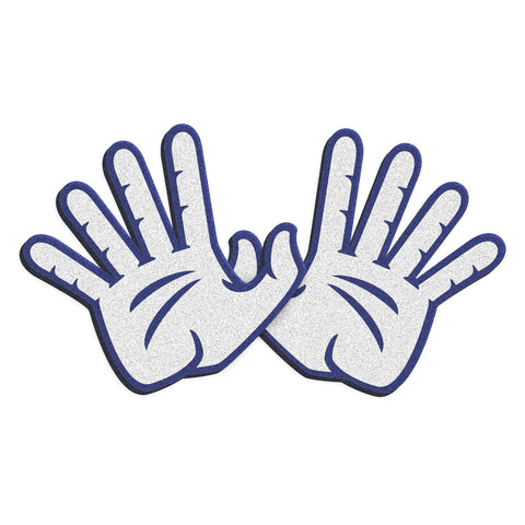 "Rice Owls ""OWL WINGS"" Hand Sign Foam Hands"