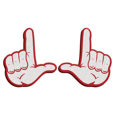 "Utah Utes ""U"" Hand Sign Foam Hands"