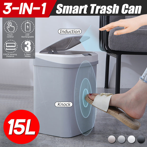 Smart Motion Kitchen Trash Can