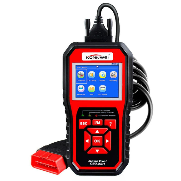Car Diagnostic Scanner<br>plus FREE Tire Repair Kit included
