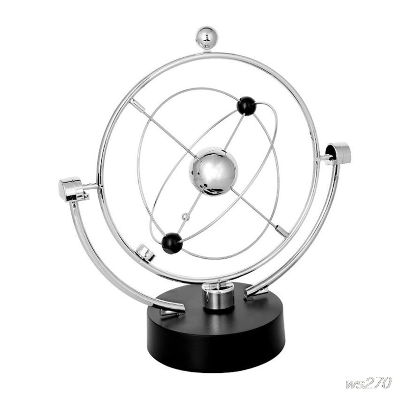 Kinetic Art! Mobile Milky Way Perpetual Motion Pendulum Desk Toy W15