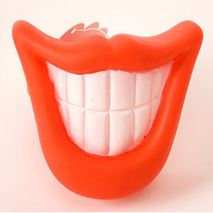 Funny pet dog teeth chew toy
