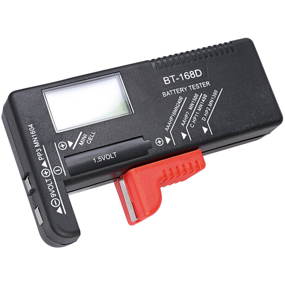Digital Battery Tester (All Sizes)