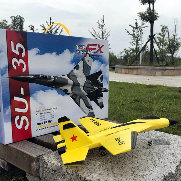 Yellow RC-Plane