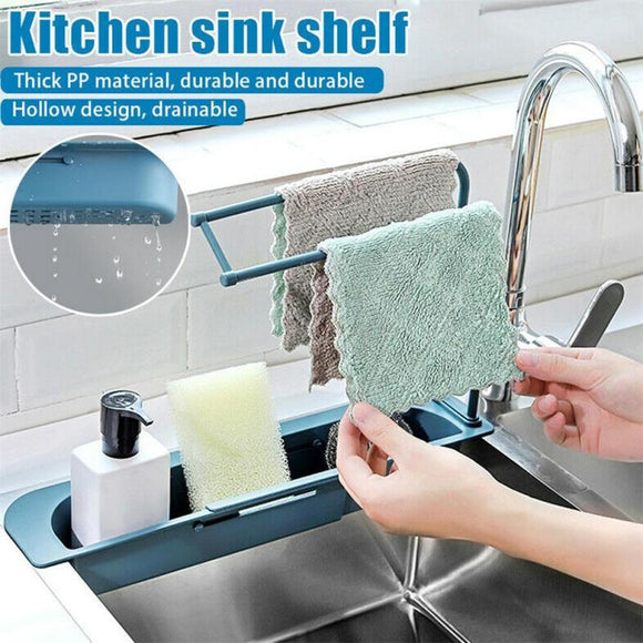 Adjustable Sink Rack Organizer
