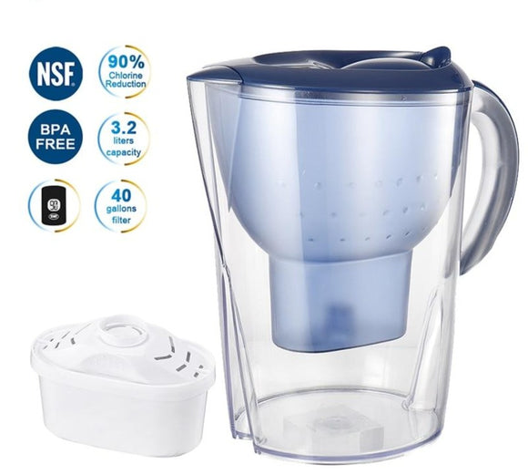 Water Pitcher with Built-in Filter