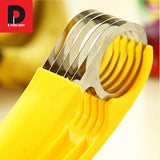Stainless Steel Banana Fruit, vegetable and sausage slicer
