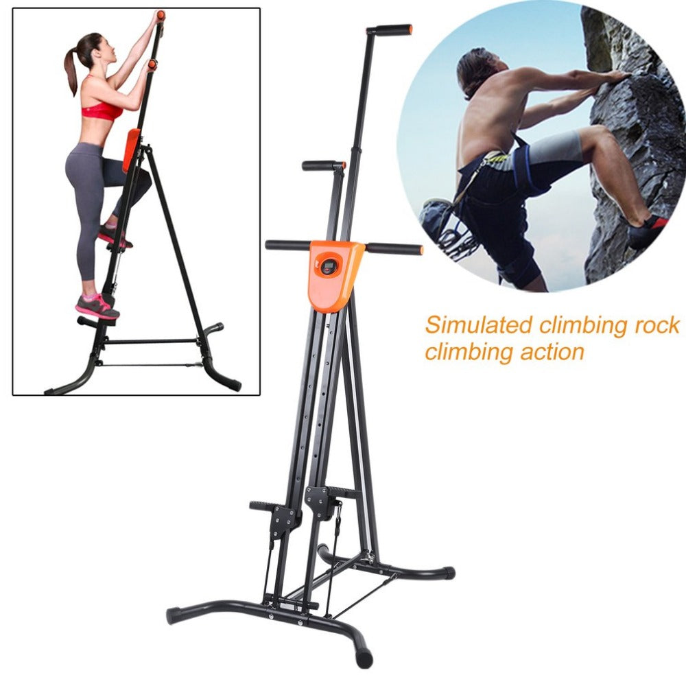 Digital Display Foldable Vertical Climber