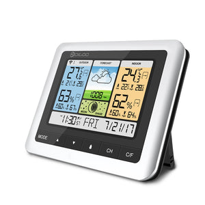 Color Wireless Weather Station Home Thermometer