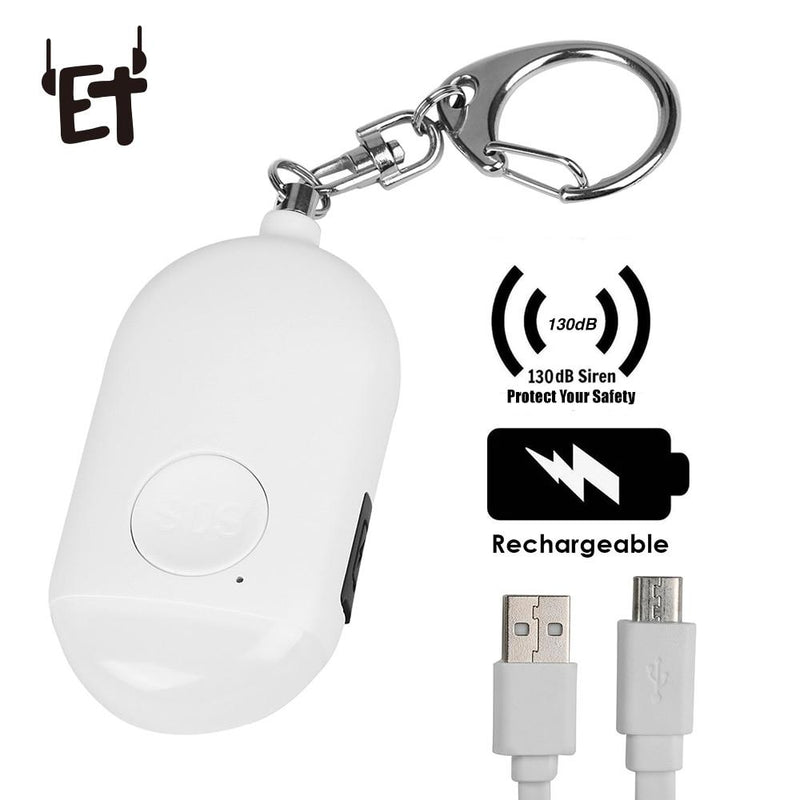 Rechargeable Personal Security Alarm High Quality Deals