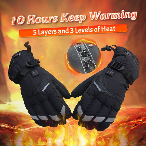 Battery-Powered Heated Gloves