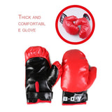 Boxing Ball With Boxing gloves For Reflex Speed Boxer Training