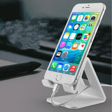 Universal Tablet or phone Holder with Shock-proof Silicone Pad