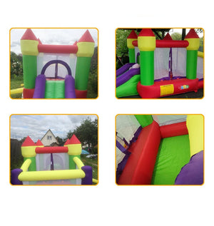 Bouncy Castle Outdoor Trampoline Ball Pit Combo