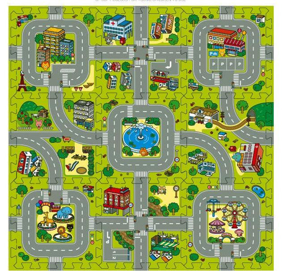 Baby EVA foam puzzle play floor mat