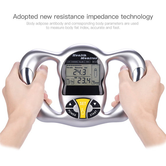 Wireless Handheld Body Fat/BMI Tester