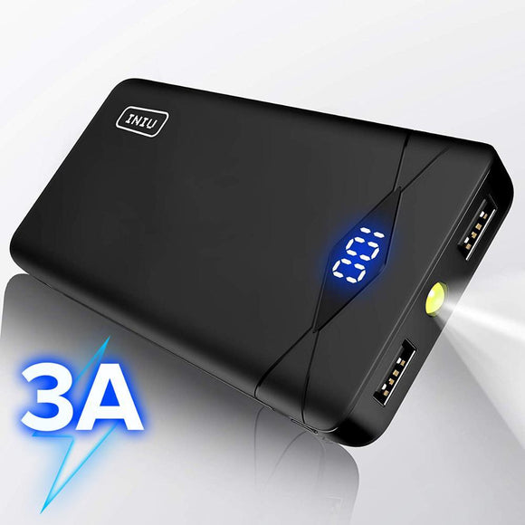 4 Dual 10000 mAh USB Portable Charger Powerbank