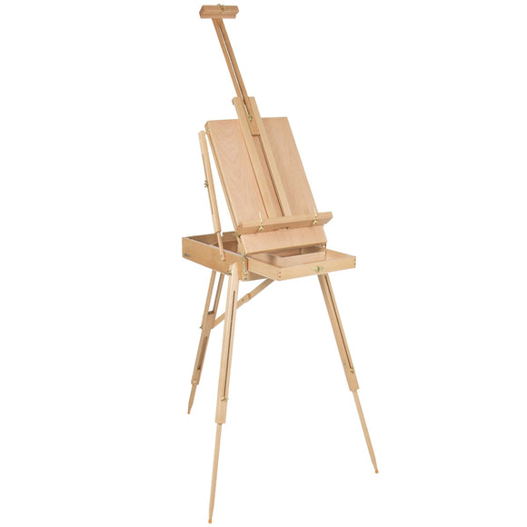 Premium Red Beech Portable Easel Box