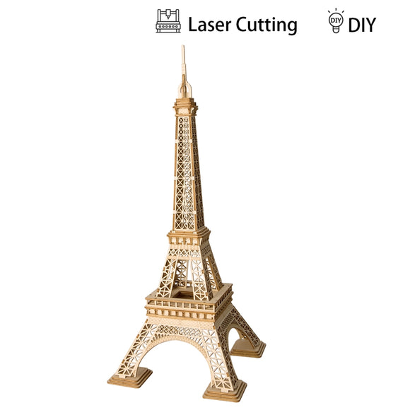 Wooden Eiffel Tower Puzzle