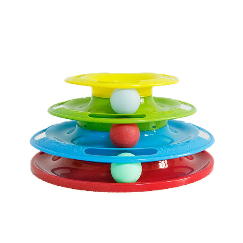 Cat Crazy Interactive Amusement Cat Toy