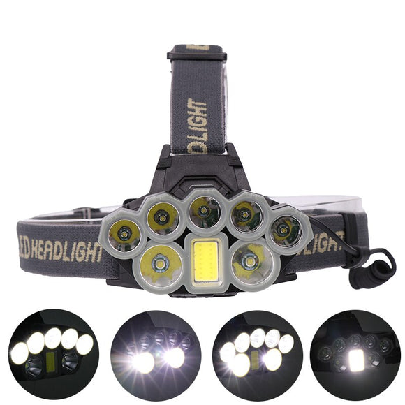 40000 Lumen Rechargeable Head Lamp Flashlight