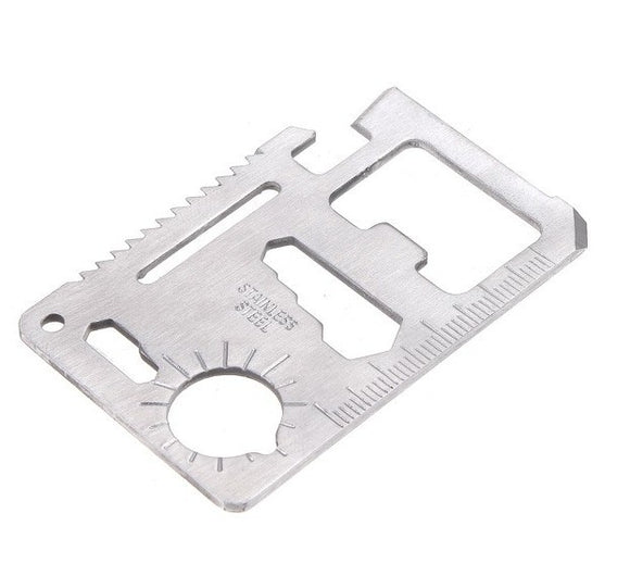 11 in 1 Multi Tool Credit Card Size