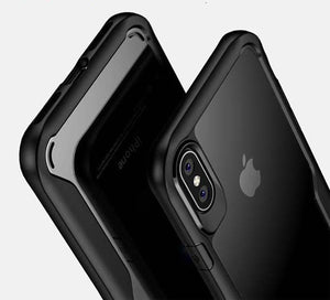 Luxury Airbag Shockproof Armor Case For iphone X