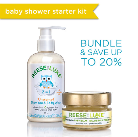 Baby Shower Starter Kit - Unscented ($40 value)