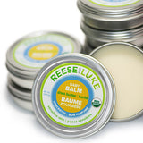 Open Container of Unscented Organic Shea Butter Baby Balm
