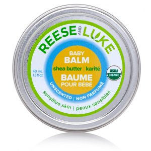 Unscented Shea Butter Baby Balm for Sensitive Skin - Reese and Luke