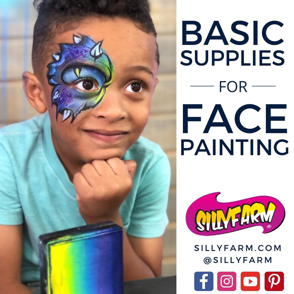 Basic Supplies for Face Painting | Silly Farm Supplies