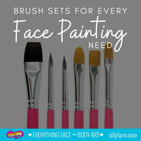 Brush Sets for Every Face Painting Need