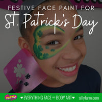 Festive Face Paint for St. Patrick's Day