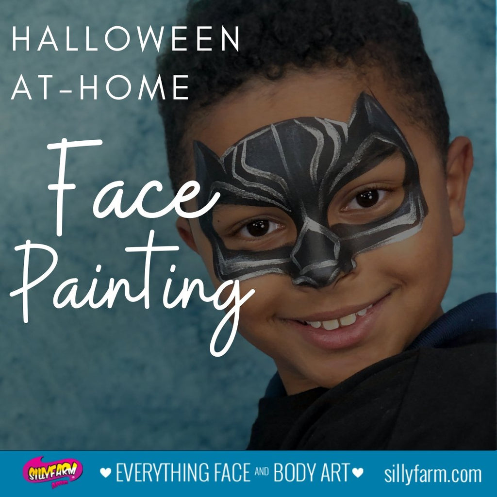 Halloween At-Home Face Painting | Silly Farm Supplies