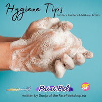 Hygiene for Face Painters & Make-Up artists