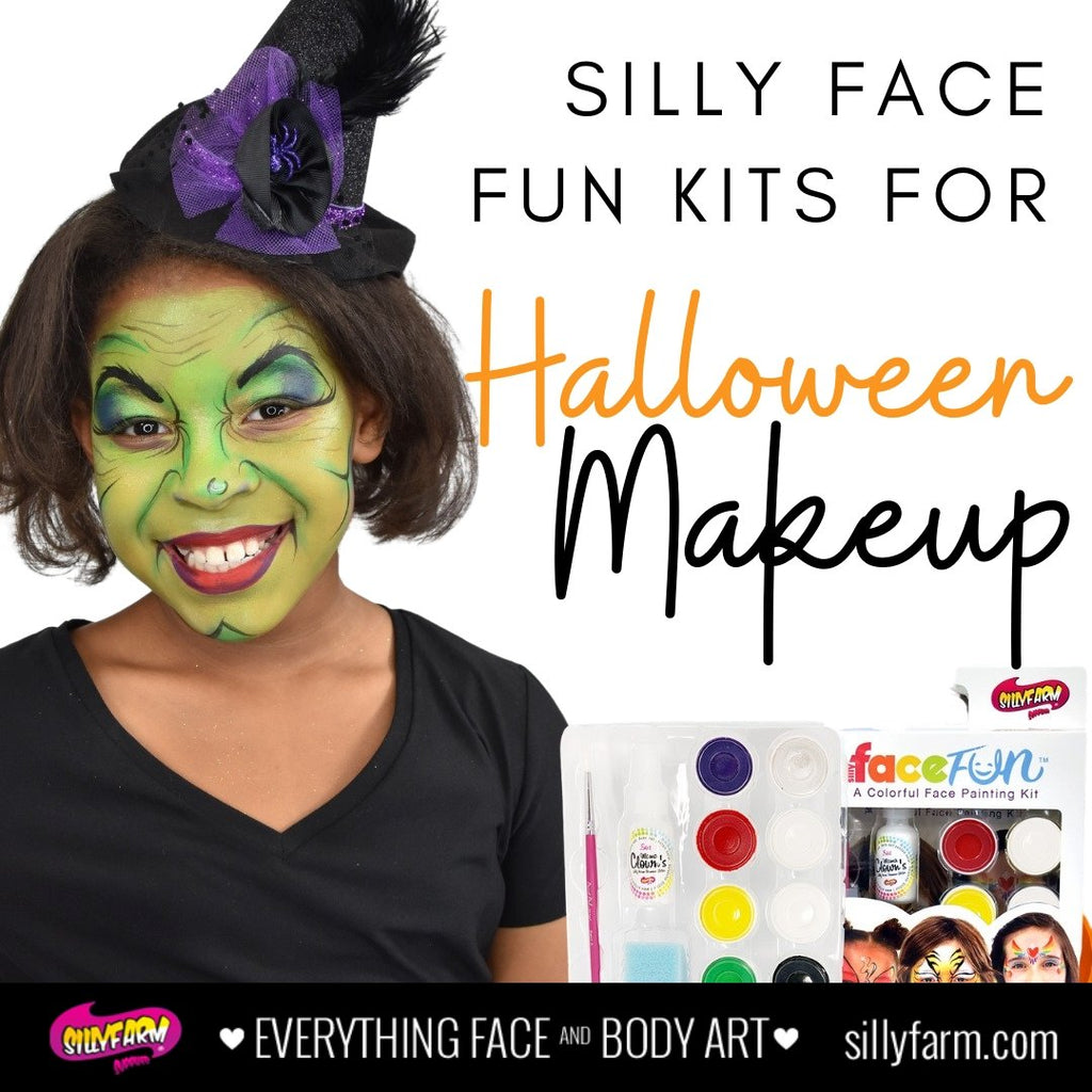 Silly Face Fun Kits for Halloween Makeup | Silly Farm Supplies