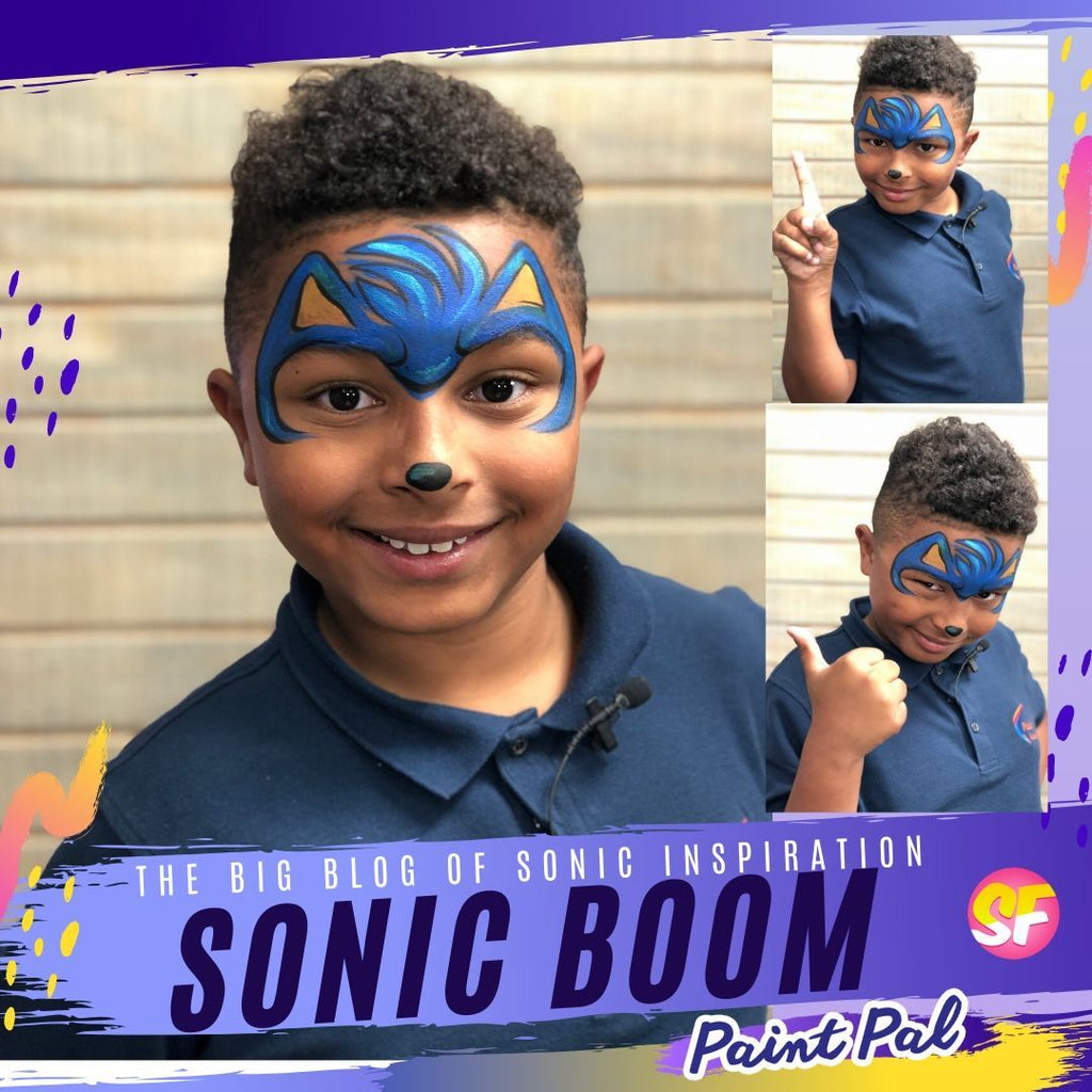 Sonic BOOM! A Big Blog of Sonic the Hedgehog Inspiration | Silly Farm Supplies