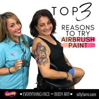 Top Three Reasons to Try Airbrush Paint