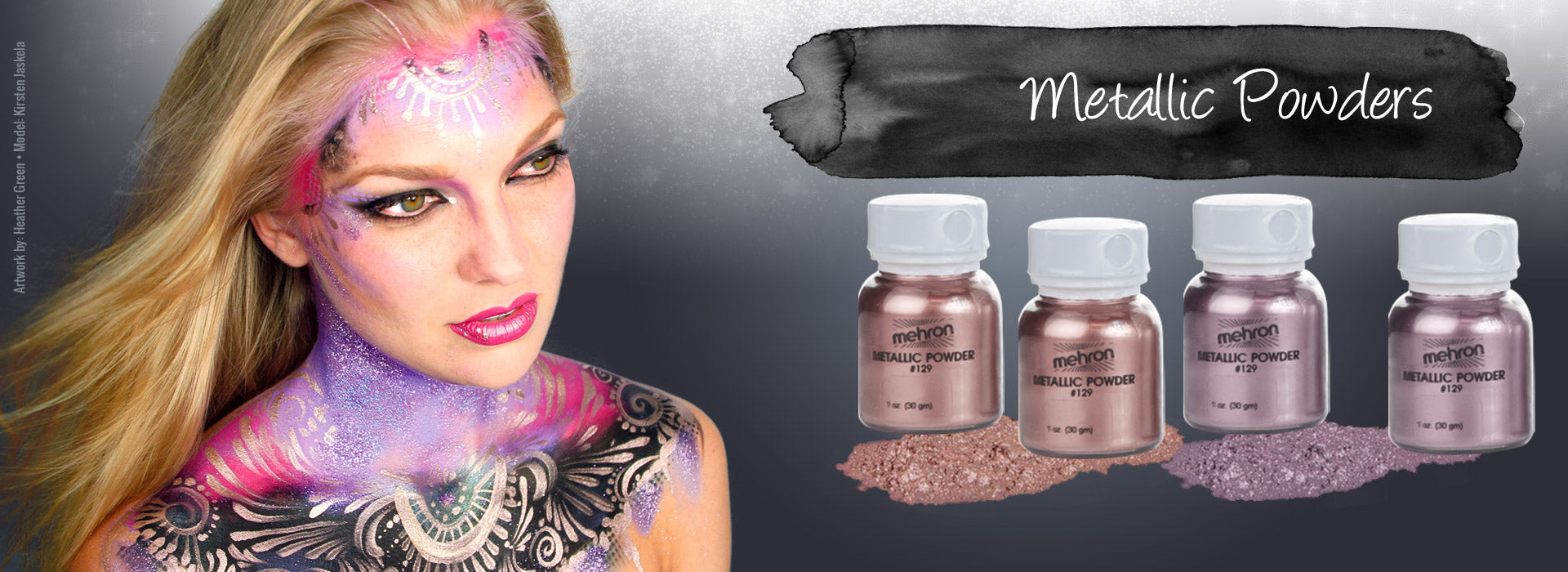 Mehron Metallic Powders
