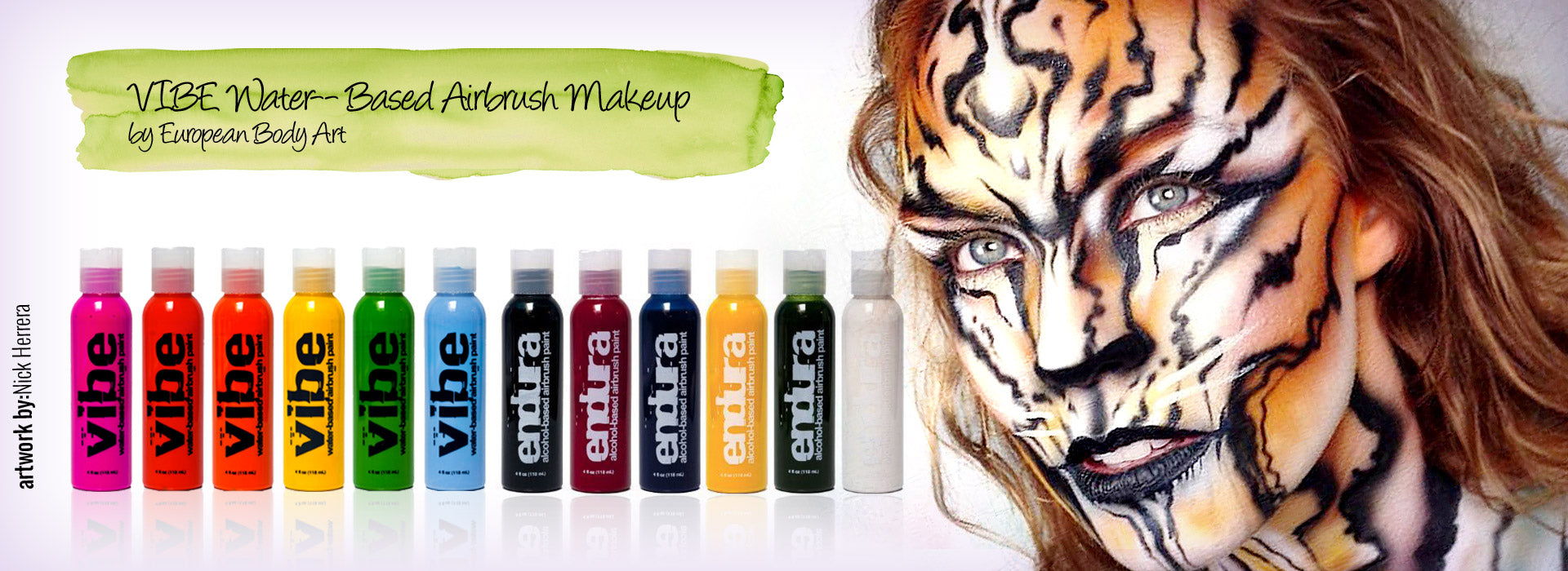 VIBE Water- Based Airbrush Makeup