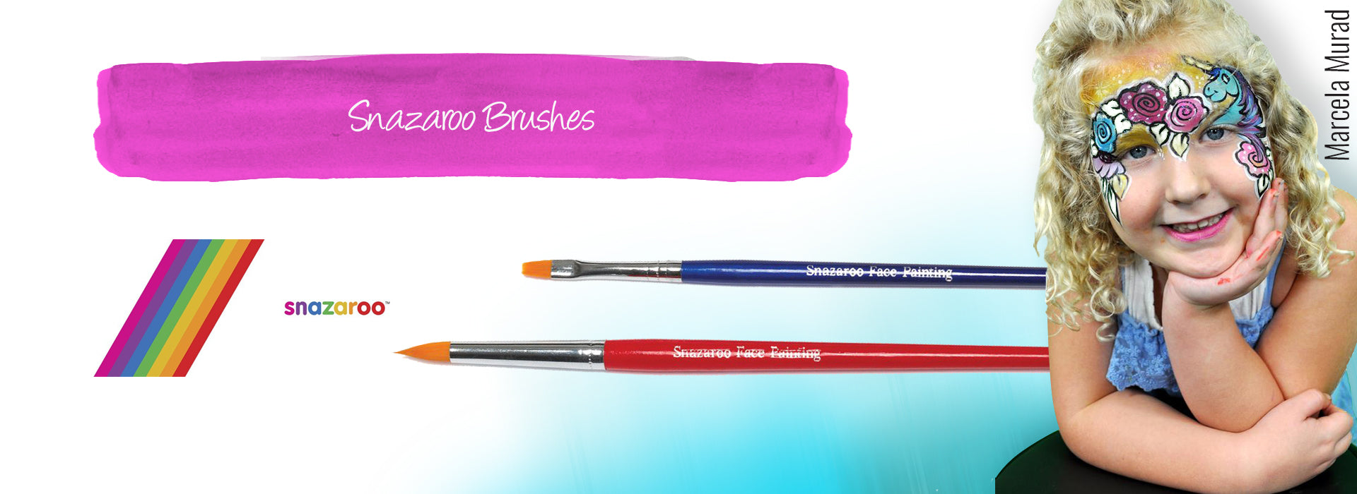 Snazaroo Brushes and Sponges