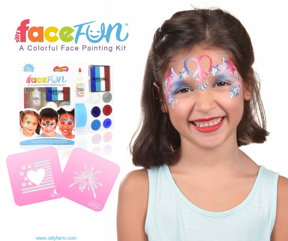 4th of July face painting Kit