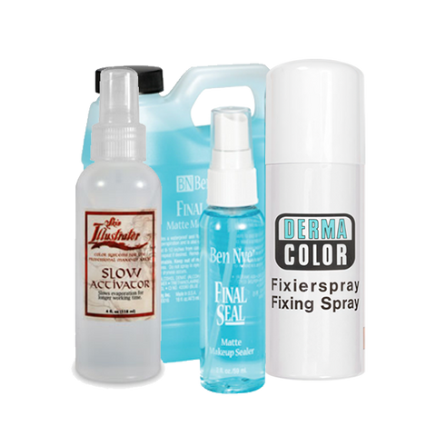 Special FX Makeup Activators, Sealers, and Fixers