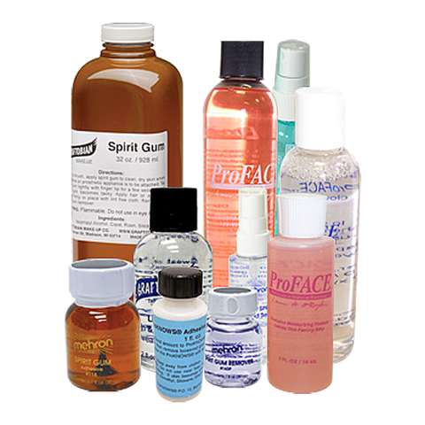 Special FX Makeup Adhesives and Removers